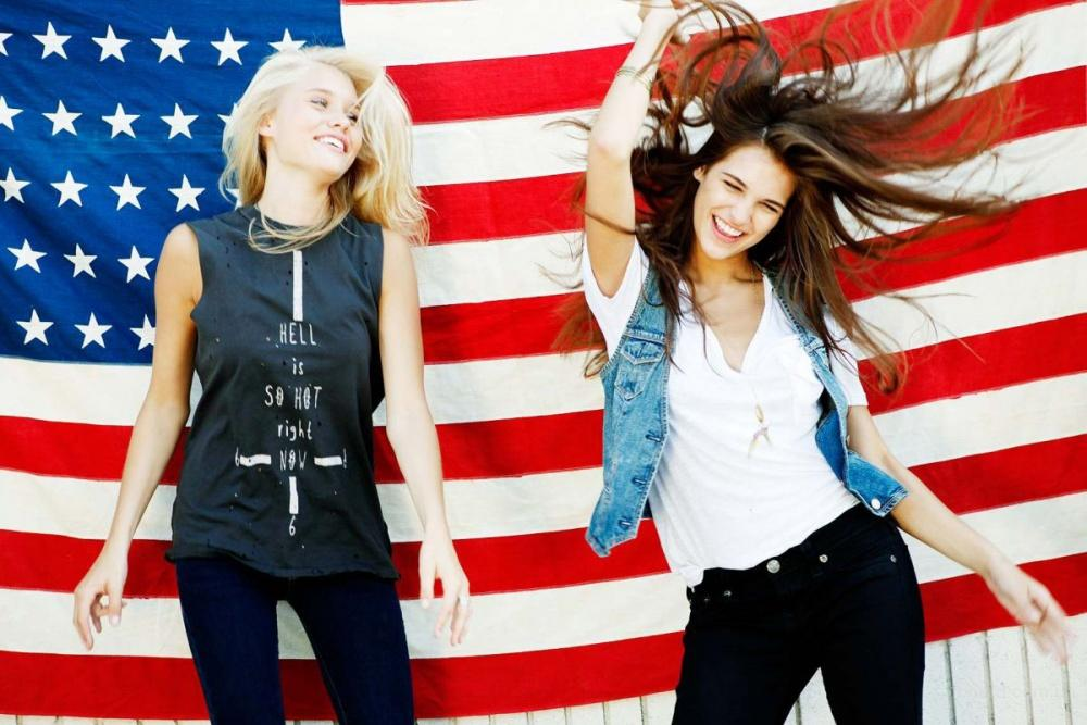 Одежда из Америки